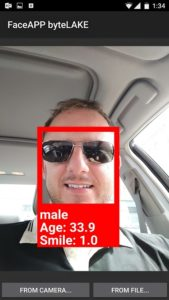 Marcin's face recognized