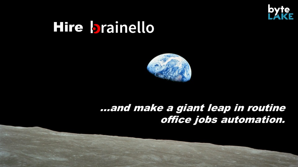 Hire brainello to automate routine office jobs
