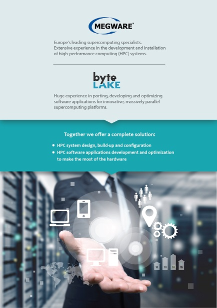 Megware and byteLAKE partnership (flyer)