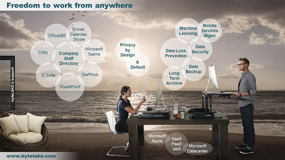 byteLAKE's Digital Workplace