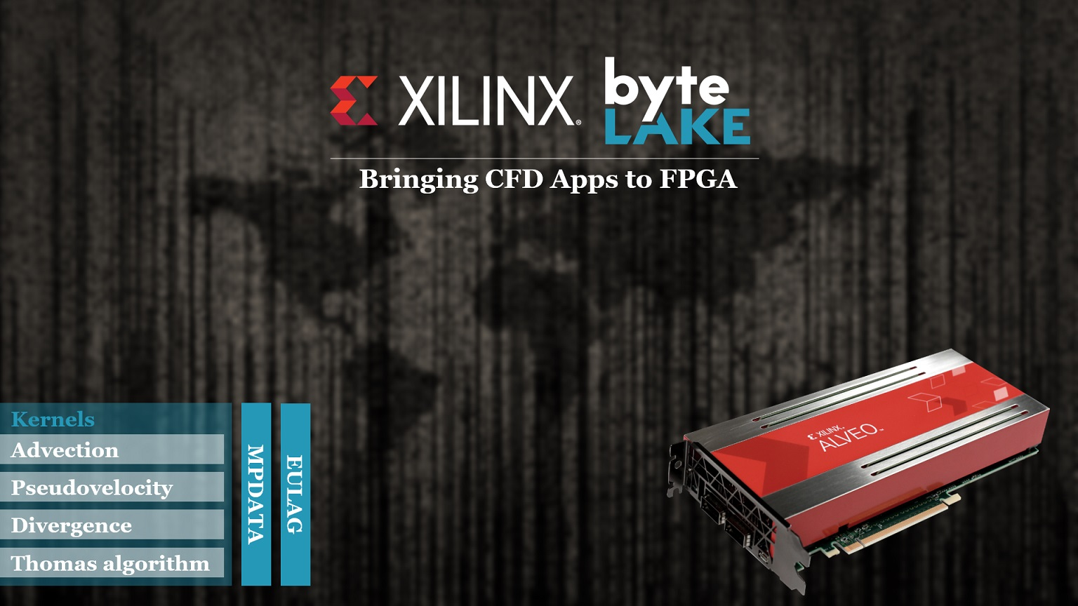 byteLAKE and Xilinx bring CFD Apps to FPGA