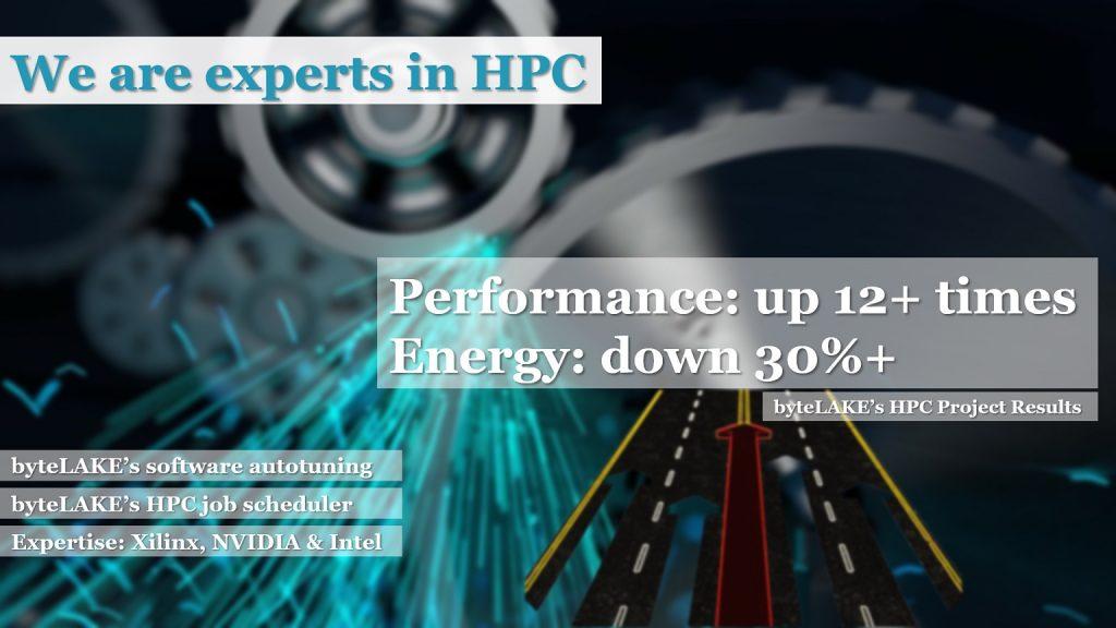 byteLAKE's expertise in HPC