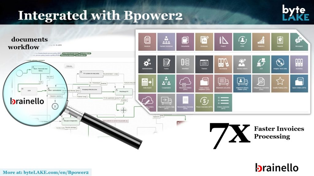 brainello powers Bpower2 (OCR for invoices)