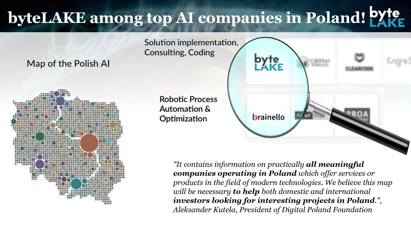byteLAKE among TOP AI Companies