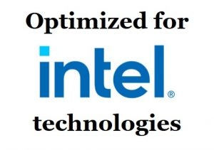 Optimized for Intel Technologies